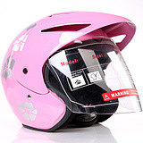 Cooling DOT ECE New Half Face Helmet (HD407) pictures & photos