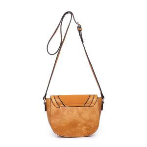 Saddle PU Leather Flip Single Shoulder Bag pictures & photos