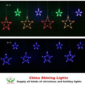 Shining Decoration LED Star Curtain Lights pictures & photos