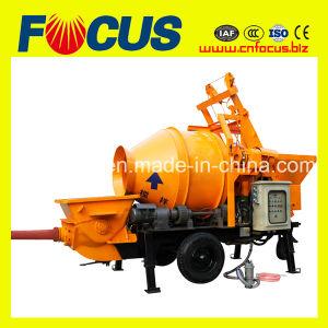 Jbt30 Electric or Diesel Concrete Mixer with Pump pictures & photos