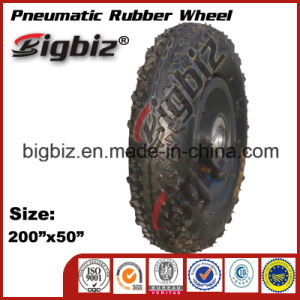200X50 Semi-Pneumatic Rubber Tires for Lawnmower pictures & photos