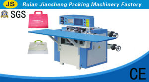 High Efficiency Automatic Soft Loop Type Portable Bag Making Machine