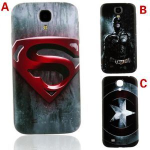 Boust Cool Super Hero Replacement Back Skin Cover Case for Samsung Galaxy S4 I9500