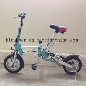 Best Selling Lady Folding Electric Bike with Lithium Battery pictures & photos