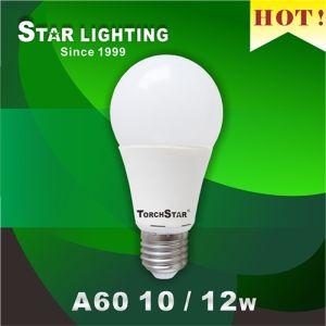 Aluminum Plastic Heat Sink 12W A60 LED Bulb