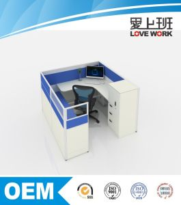 Single Modular Office Partition Workstation