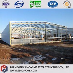 Light Steel Door Frame Warehouse with Wind Resistance Column pictures & photos