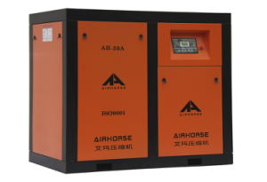 China Supply 55kw 75HP 9m3/Min Belt Screw Air Compressor pictures & photos