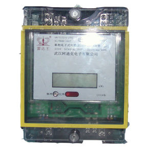 Doule Loop Electric Energy Meter with Ultrasonic Anti-Theft Alarm in 50/60Hz pictures & photos