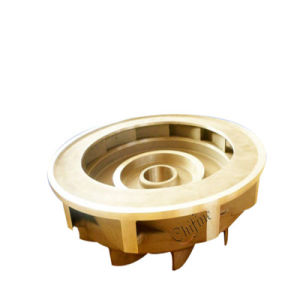 Lost Wax Casting Precision Brass Copper Casting for Impeller pictures & photos