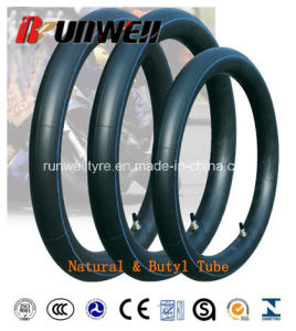 Motorcycle Butyl Inner Tubes 2.25-17 2.25X19 pictures & photos