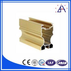 Kitchen Cabinet Aluminium Profiles/Cabinet Aluminium Extrusion Profile pictures & photos