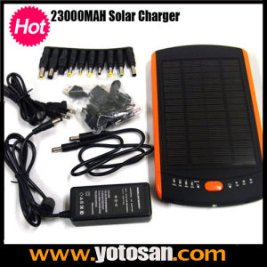 23000mAh Dual USB Battery Device for Mobile Phone Solar Laptop Charger pictures & photos