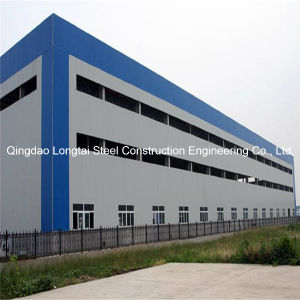 China prefabricated sandwich panels steel frame structure for Factory building design