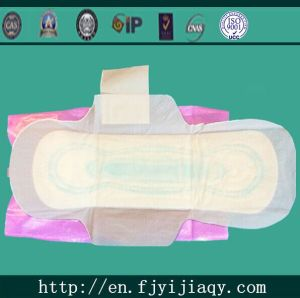 Super Absorbent Feminine Comfort Organic 100 Cotton Sanitary Napkin Pad pictures & photos