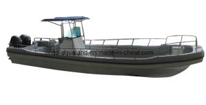 China Aqualand 32feet 9.6m Fiberglass Water Taxi /Passenger Ferry Boat (320PRO) pictures & photos