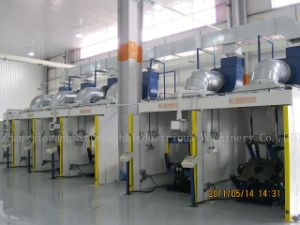 6 Stations PU Foaming Line pictures & photos