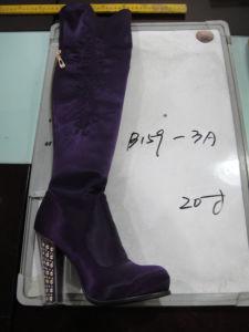 Ladies Women High Heel Winter Boot Elastic Stretch