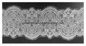 Hot Sell Fashion Eyelash Lace Trimming for Garment Dress pictures & photos