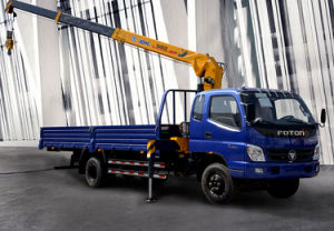 Truck Mounted Crane Sq4sk2q pictures & photos