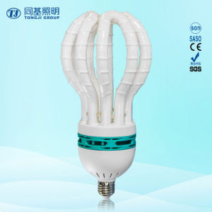 Energy Saving Lamp 150W Lotus Halogen/Mixed/Tri-Color Compact Fluroescent Light Bulb/CFL pictures & photos
