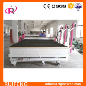 Full Automatic CNC Glass Cutter Machine (RF3826AIO) pictures & photos