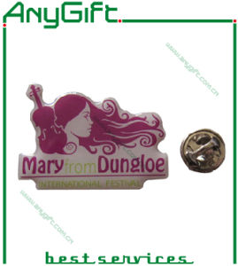 Printed Metal Pin Badge with Customized Logo pictures & photos