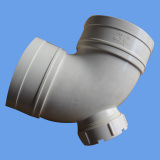 PVC 90 Deg Elbow with Inspection Port Drainage Fittings pictures & photos