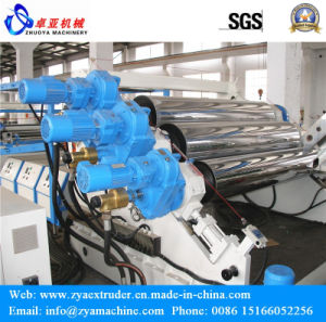 High Automatic PE/PP Mirror Sheet Plastic Extruder Machine pictures & photos