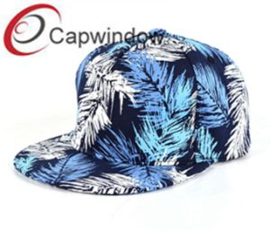 Coconut Leaves Printed Hawaii Style Leisure Baseball/ Snapback Hat pictures & photos