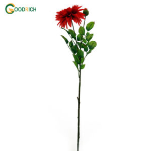 Cheaper Fabric Dahlia Artificial Flower