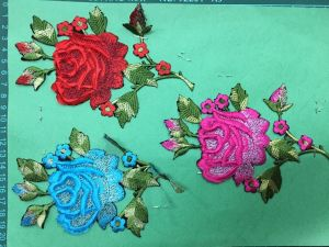 Garment Accessories Embroidery Flower for Dress pictures & photos