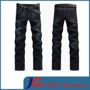 Men Bleach Wash Cotton Jeans pictures & photos