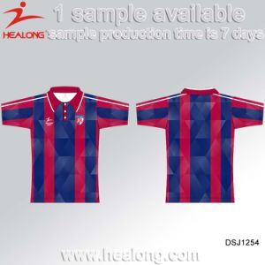 Healong Custom Sportswear Personalized Sublimation Printing Men′s Polo T-Shirt pictures & photos