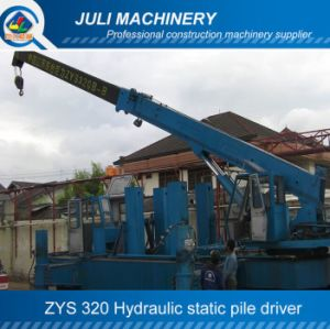 Zys 320 Hydraulic Static Pile Driver, 320ton Pile Driver, Hydraulic Pile Pressing Machine