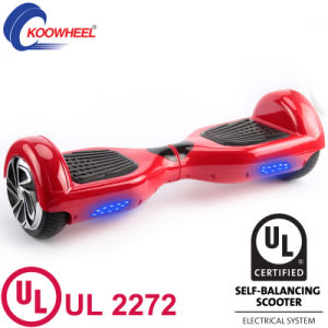 2 Wheels Electric Self Balancing Scooter Hoverboard with UL2272 Approval Skateboard pictures & photos