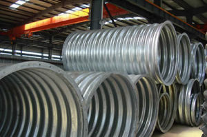 Thickness 1.2-3.0mm Corrugated Culvert Pipe pictures & photos