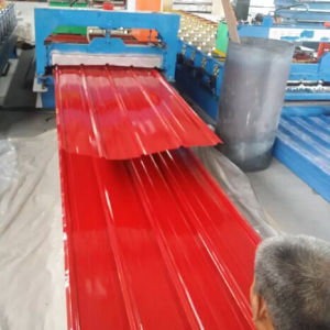 Roofing Sheet 0.125-0.5mm Corrugated Galvanized Steel Sheet for Construction pictures & photos