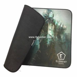 4 Color Printed Foamed Rubber Mouse Pad pictures & photos