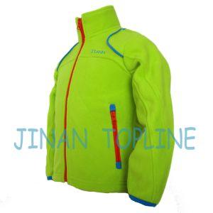 Junior Style Microfleece, Polarfleece Long Zipper Microfleece Jacket pictures & photos