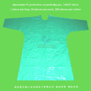 Disposable PE Coverall pictures & photos