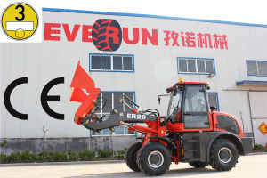 Everun New CE Approved 2.0 Ton Backhoe Wheel Loader pictures & photos