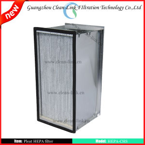 High Efficiency Industrial Air Filters Pleated HEPA Filters pictures & photos