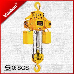 10ton Electric Chain Hoist, Hook Suspension Type Hoist pictures & photos