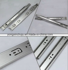 Stainless Steel Three-Fold Ball Bearing Slide Rail (SMS-DR03)