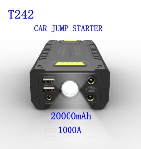 20000mAh Auto Vehicle Jump Starter for Charging Portable Jumper Starter Battery pictures & photos