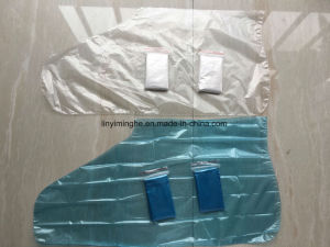 Folded PE Disposable Socks pictures & photos