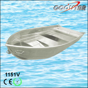 1.2mm Thickness V-Bottom Aluminium Boat for Fishing pictures & photos