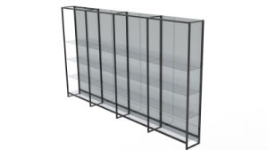 Glass Display Shelf (DF-QBY)
