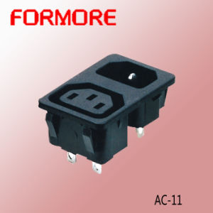 AC Socket with Fuse /Power Socket pictures & photos